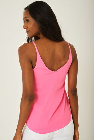 Cami Top in Pink, Tops - First Impression UK