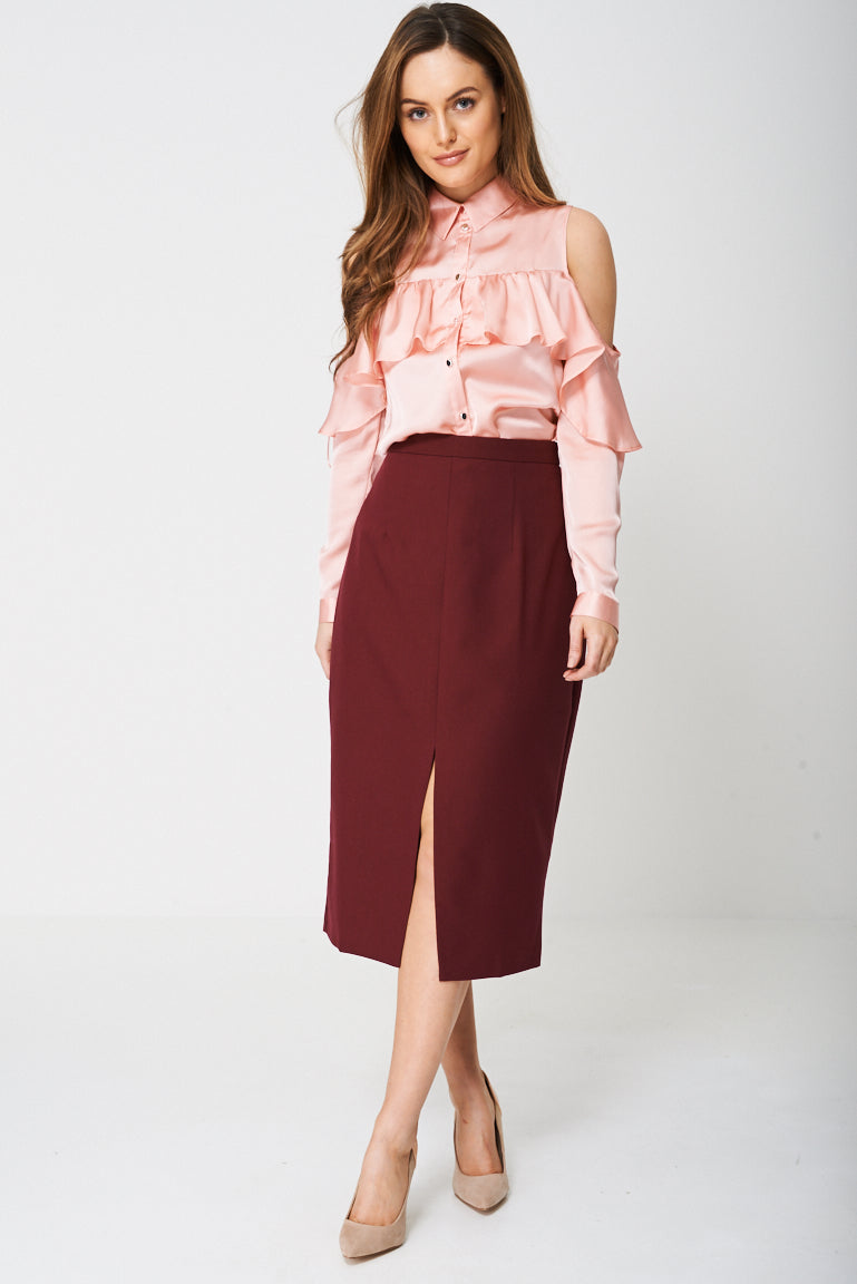 Ladies Tailored Pencil Skirt Ex-Branded