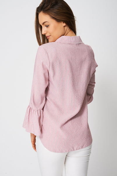 Blouse With Bell Sleeve Ex-Branded - First Impression UK
