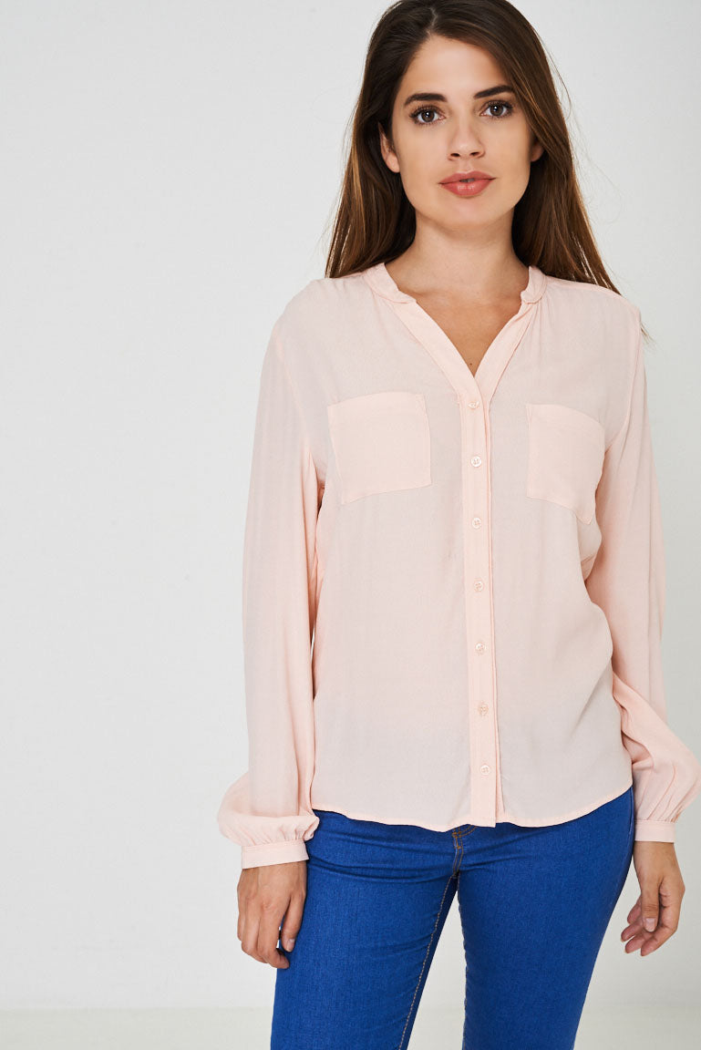 Ladies Light Pink Shirt