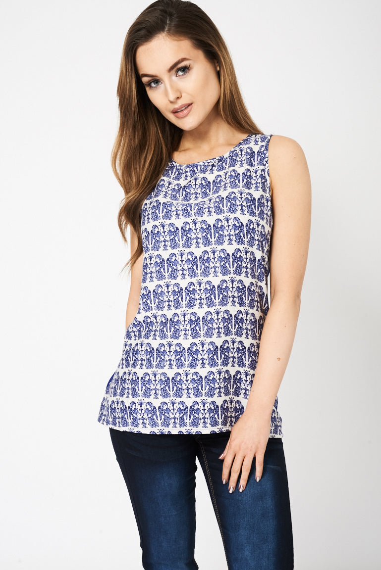 Angel Printed Top Ex Brand, Tops - First Impression UK