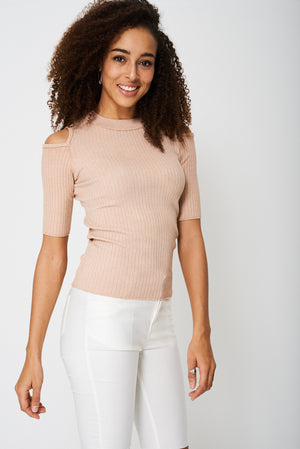 Cold Shoulder Jersey Ex-Branded - First Impression UK