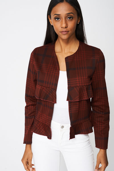 Blazer With Frills Ex-Branded - First Impression UK