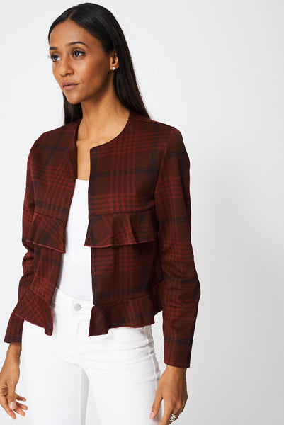 Blazer With Frills Ex-Branded, Jackets & Coats - First Impression UK