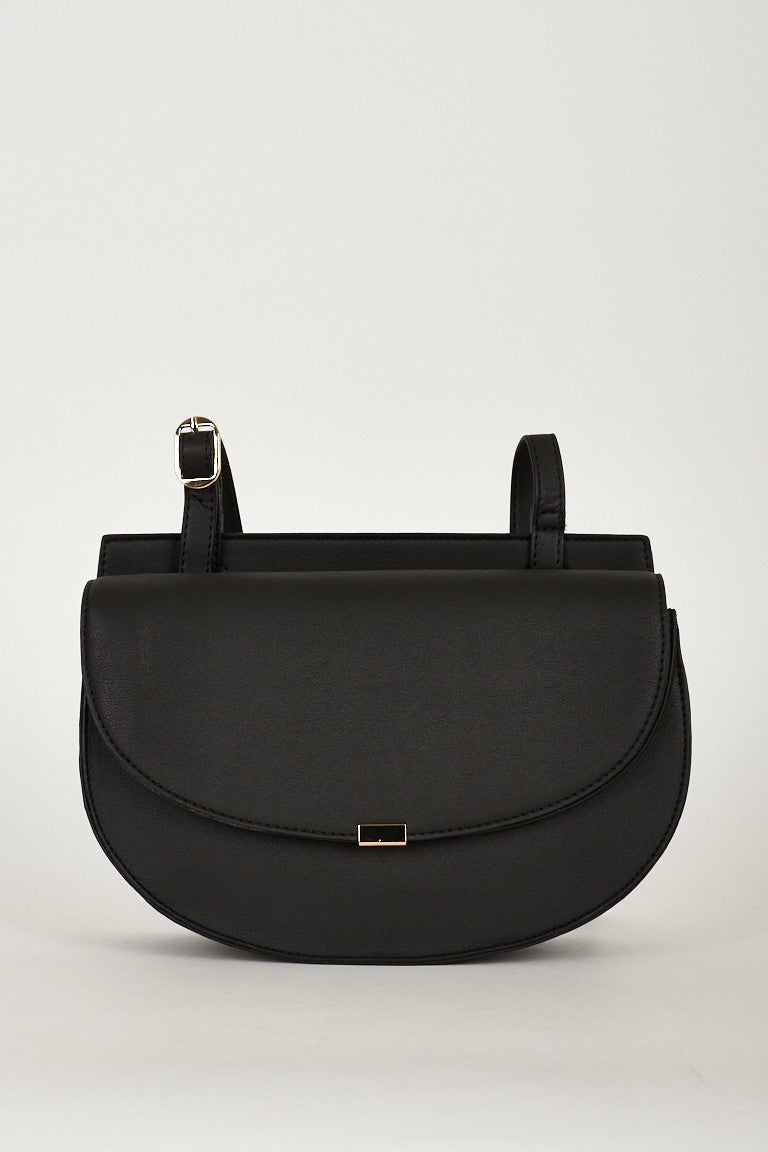 Crossbody Shoulder Bag With Twin Magnet Closure - First Impression UK