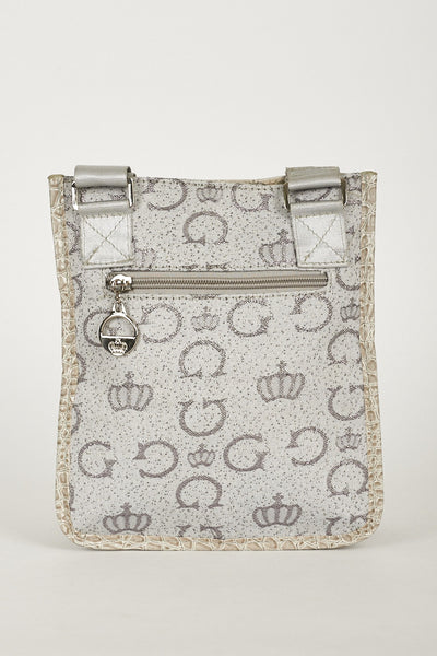 CrossBody Bag With Alphabet Spaghetti And Crown Design - First Impression UK
