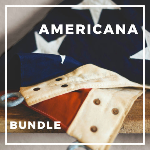 Americana Inspired Fabric Bundle!  30% of Proceeds goes to Homes for Our Troops!