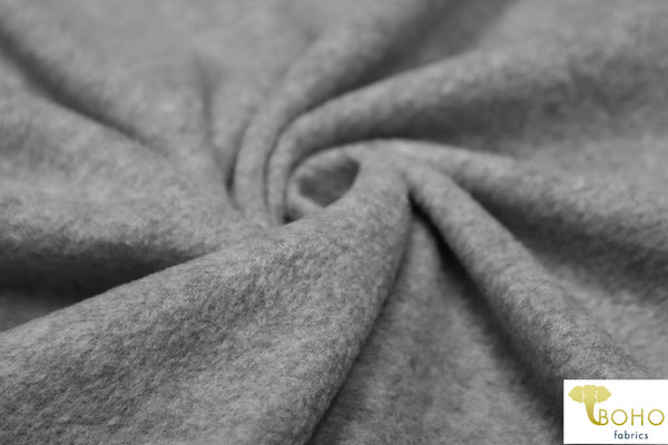Heather Gray Fleece.