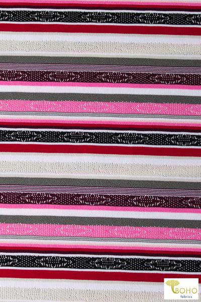Orchid Purple. Slubbed Jersey Knit. JER-128