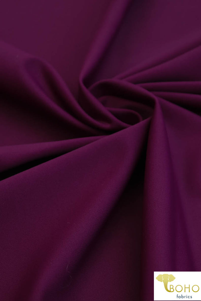 Mulberry Purple. Swim Solid/Activewear. SW-078