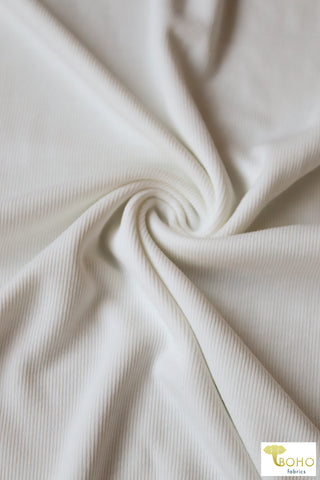 Floral Waffle Knit Fabric.  Pink & Blue Florals on Black.