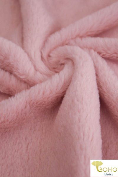 Pink Faux Fur. Sold by the 3 Yard Piece!