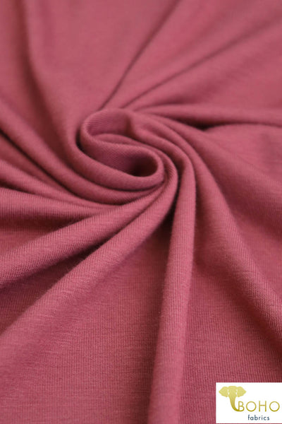 Rose Clay. Rayon Spandex Knit. R-125