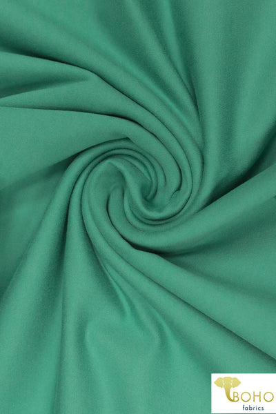 Light Rainforest Green. Tactile Athletic Fabric. ATH-114