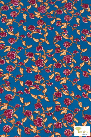 Chain of Roses on Blue, DBP. BPP-306
