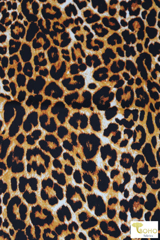 Francine Leopard, Cotton Twill. WVP-208