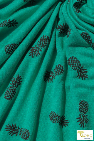 Pineapple Perfection,  Rayon Jersey Knit. RJP-304