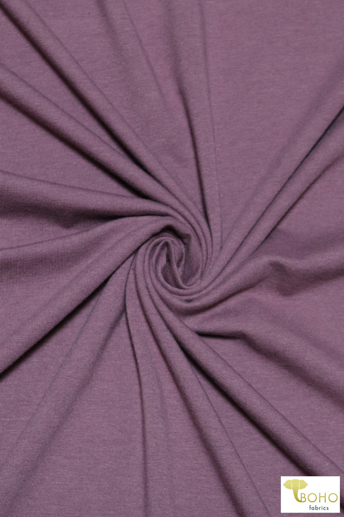 Tulipwood Purple, Cotton Jersey Knit. CLS-102