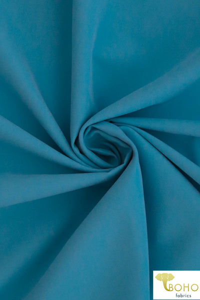 Blue Boardshort Fabric. Swim/Activewear. Poly Microfiber Knit Fabric