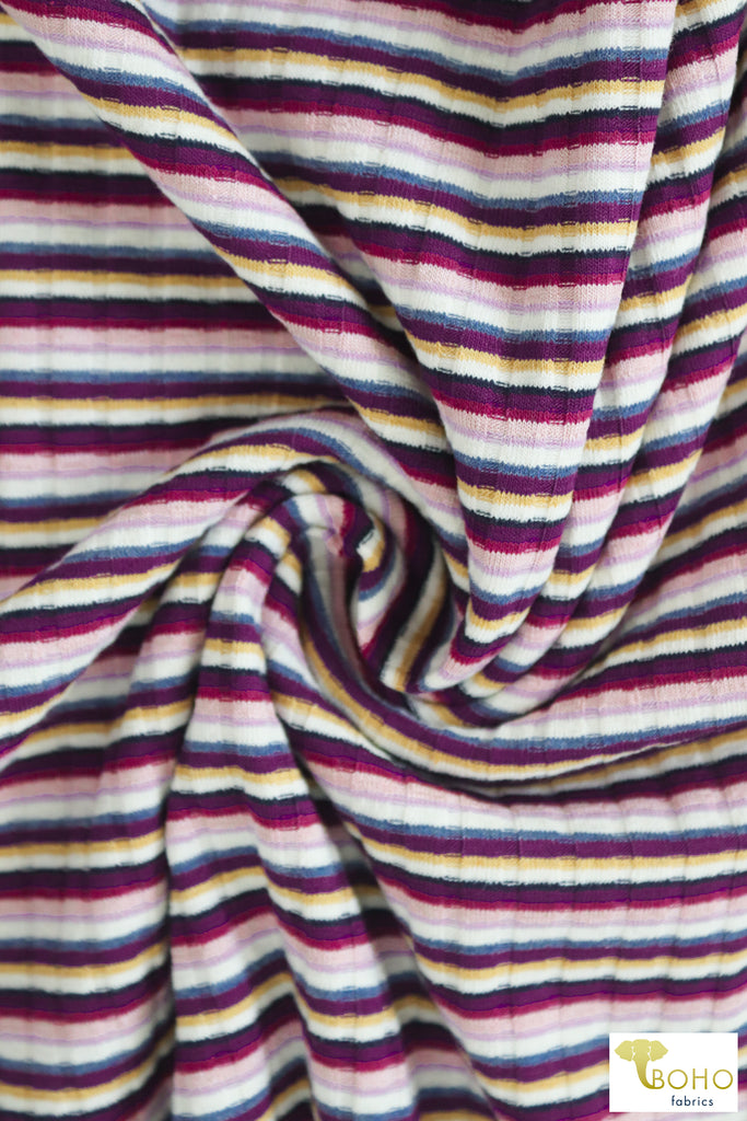 06/03/2019 Fabric Happy Hour:  Atlantis Stripe!  Solid, Lining & Elastic Included.  Swim Week Bundles!