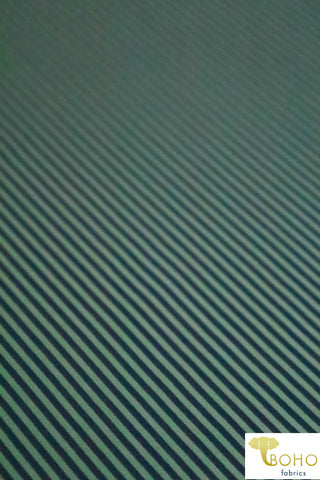 "1/16"" Julep Stripe.  Swim/Athletic Nylon Spandex Fabric"