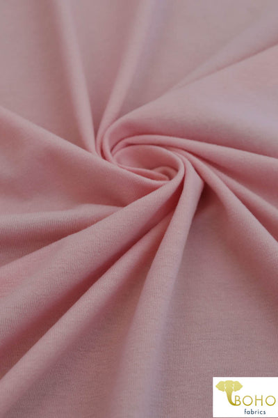 Blush Pink. Cotton Jersey. JER-107.
