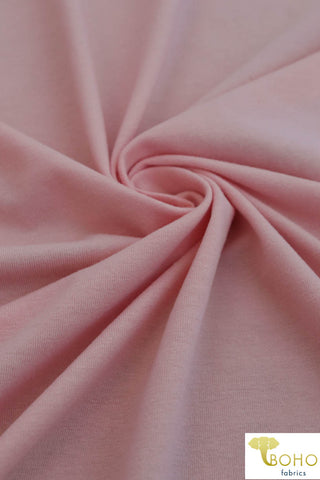 Blush Pink. Cotton Jersey. CL-105.