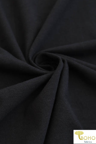 Black 10 oz. Cotton Lycra. CL-106.