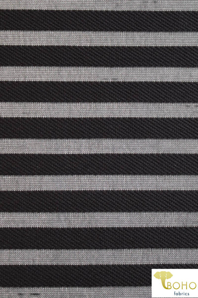 Wide Black Stripes. Burnout Stretch Mesh. SM-125