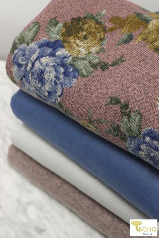 Bubblegum Pink. Ribbed Knit. RIB-108