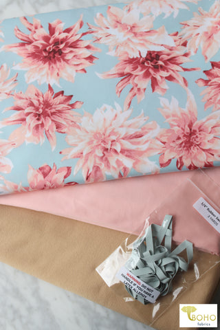 Olive. Cotton French Terry. CLFT-938-OLV