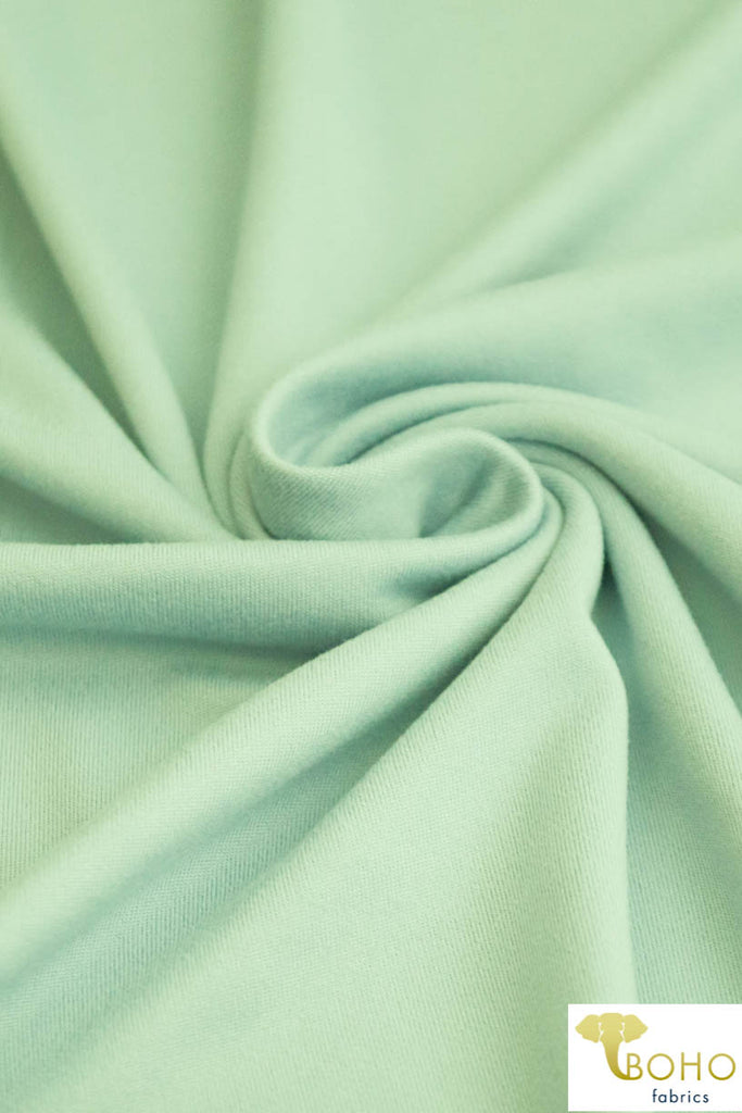 DBP: Daiquiri Ice. Double Brushed Poly Knit Fabric. BP-117