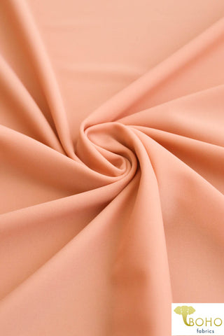 Apricot. Swim Solid/Activewear. SW-004