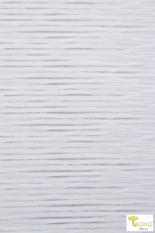 Black Fleece. Brushed Sweatshirt Knit Fabric. SWT-103