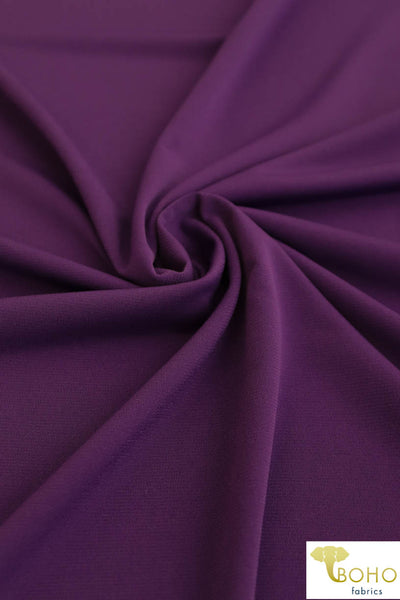 Lining in Grape Purple.