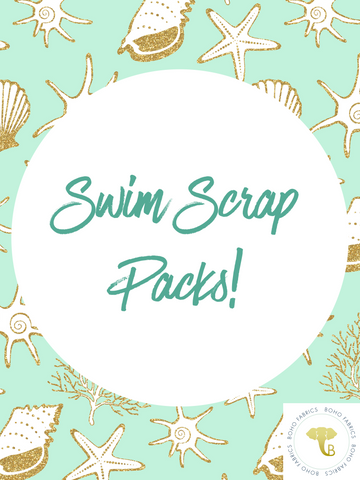 06/29/2020  Fabric Happy Hour Bundle: Swim PFRE Scrap Packs!