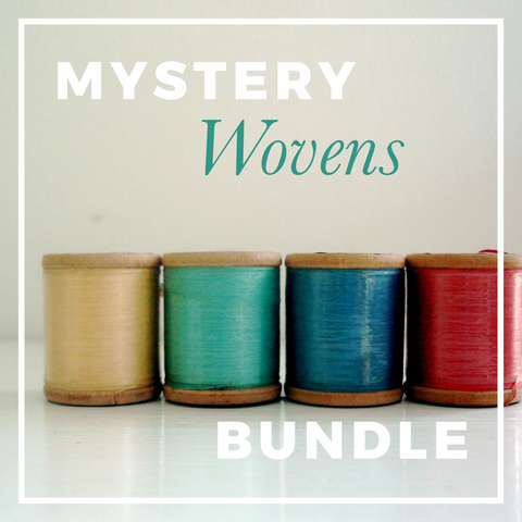 Mystery Woven Fabric Bundle (Solids & Prints)