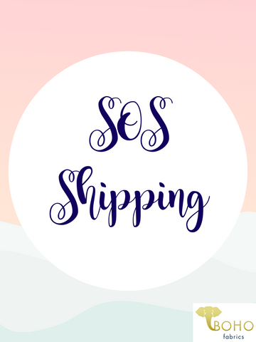 SOS Shipping for 11/24 Stocking!
