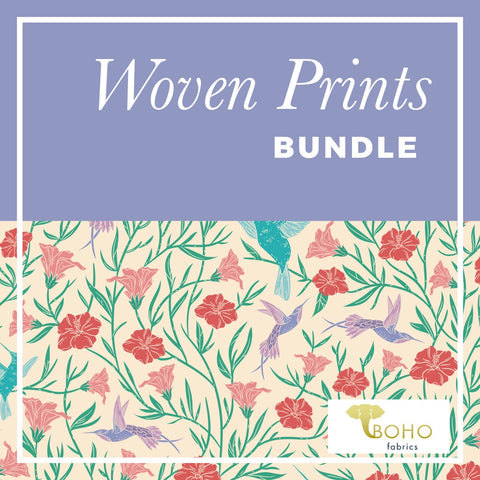 Woven Prints Fabric Bundle