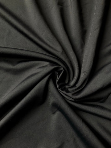 Emily's Pick!  Micro Nylon in Black Matte. 200 GSM Nylon/Spandex Blend