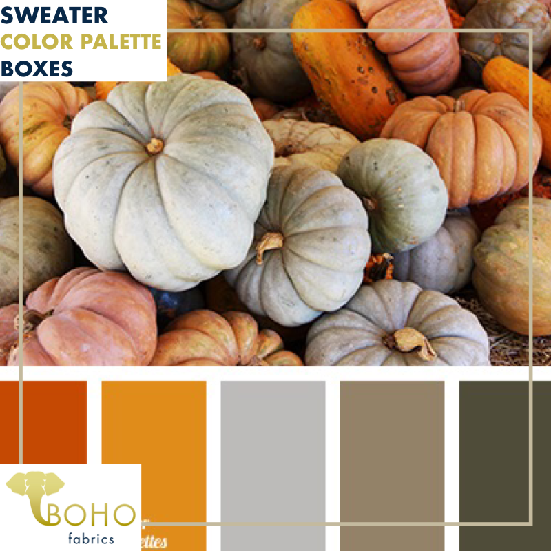 """Pumpkin Patch""  Sweater/French Terry Knit Palette Bundle"