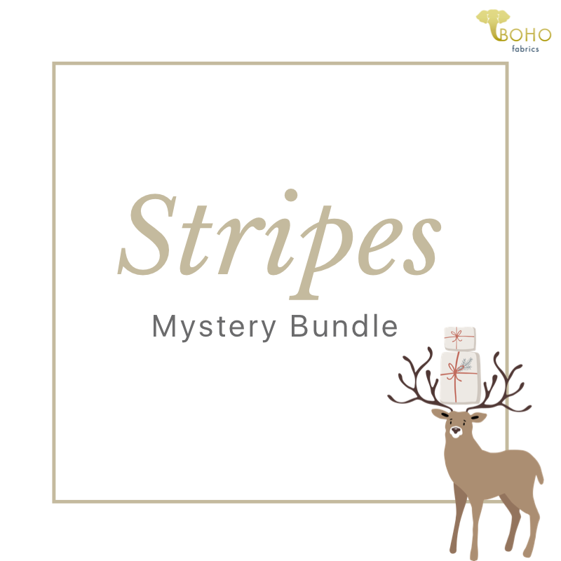 $3/Yard Stripes Mystery Bundle! CYBER MONDAY