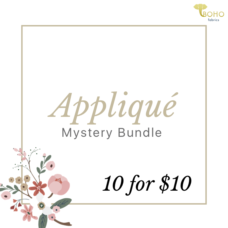 10 Pack Mixed Appliqué Mystery Bundle! CYBER MONDAY