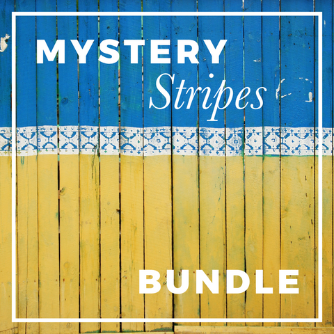 Mystery STRIPE Print Fabric Bundle; ALL PRINTS & ALL KNITS!
