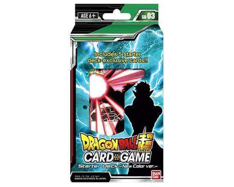 Dragon Ball Super Card Game New Colour Starter Deck