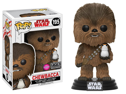 Chewbacca (The Last Jedi) (Flocked)