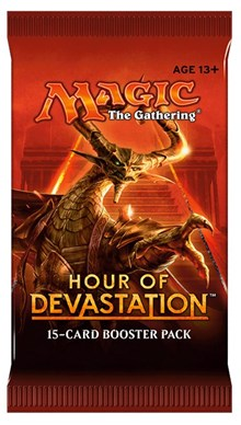 MtG: Hour of Devastation Booster Pack | SKYFOX GAMES