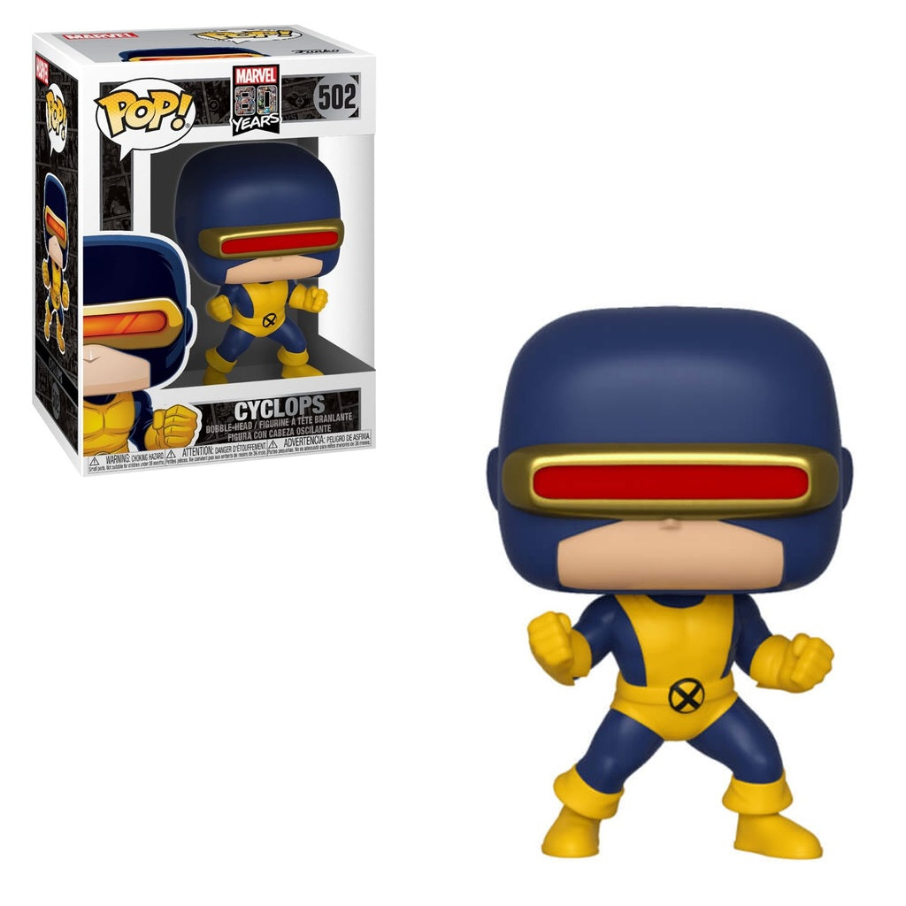 Pop! Marvel 80 Years: Cyclops #502 | SKYFOX GAMES