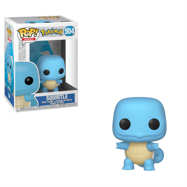 Pop! Games Pokemon: Squirtle #504