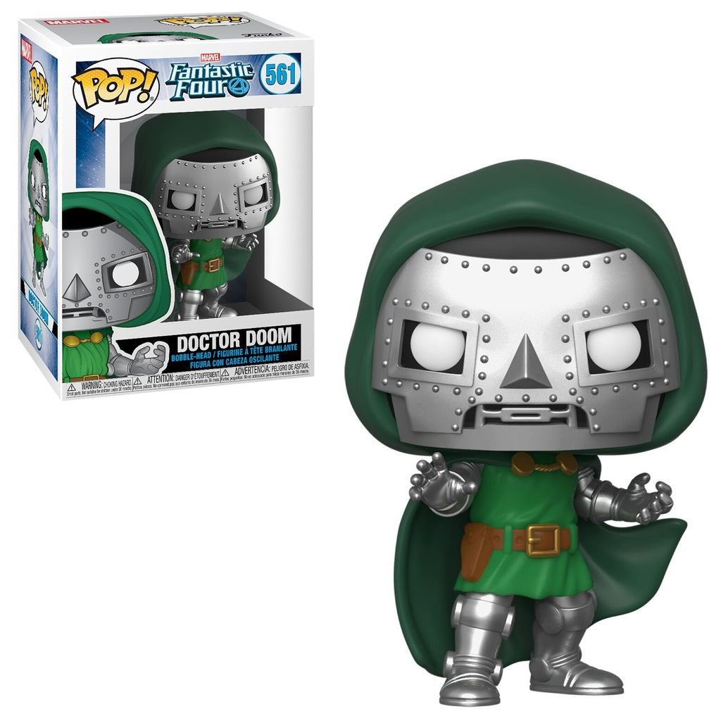 Pop! Marvel Fantastic Four: Doctor Doom #561 | SKYFOX GAMES